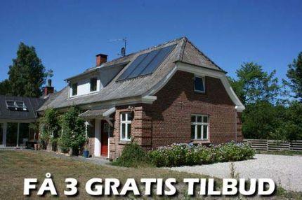 3 tilbud tømrer Fredericia